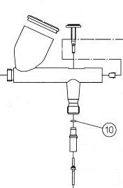 Уплотнение О-образное триггера HP-BC/CS/S/BS/BCS/AR/BR/CR/BCR, резина