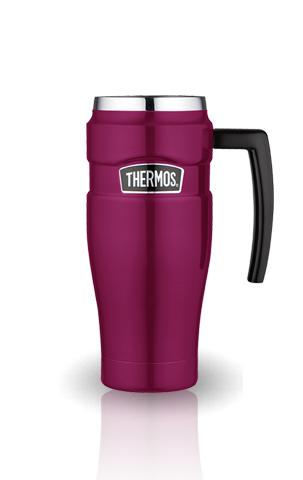 Термокружка Thermos King SK1000 (0.47 литра) розовая